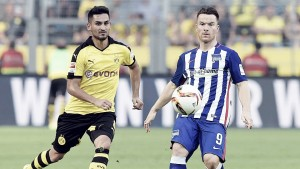 Hertha de Berlín vs Borussia Dortmund Bundesliga 2016. Ni Hertha ni Dortmund consiguen arrancar