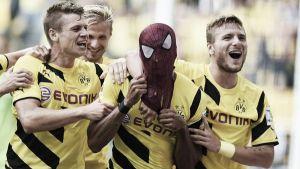 Aubameyang teje una dorada Supercopa para el Dortmund