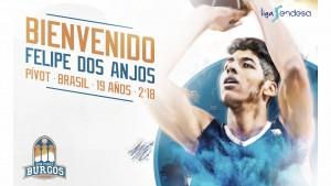 Felipe Dos Anjos se convierte en nuevo jugador del San Pablo Burgos