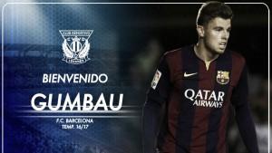 Gumbau llega del Barça B para reforzar el centro del campo
