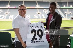 Borussia Monchengladbach's Mamadou Doucouré suffers injury setback