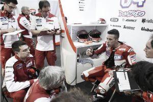 "Andrea Dovizioso: ""Hemos usado el neumático duro"""