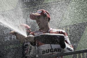 """Andrea Dovizioso: """"Hemos sufrido mucho con el neumático trasero"""""""