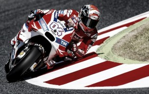 Dovizioso leads crash filled FP3 session at Assen