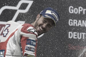 Long-awaited podium for Dovizioso at Sachsenring