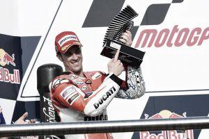 """Andrea Dovizioso: """"Una vez más, nos las arreglamos para subir al podio"""""""