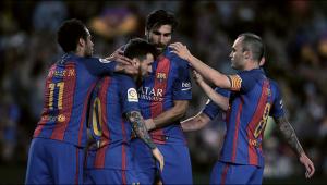 Liga - Il Barcellona chiude con una vittoria in rimonta: battuto 4-2 l'Eibar