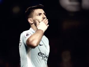 Premier League - Il Manchester City schianta il Leicester nel segno di Aguero