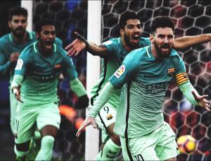 Liga - Messi porta il Barcellona in vetta: battuto l'Atletico Madrid 1-2