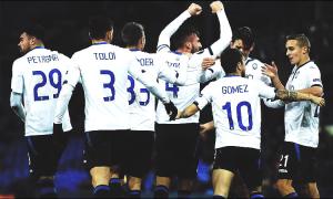 Europa League - Una stellare Atalanta demolisce 1-5 l'Everton e vola ai sedicesimi