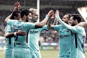 Liga - Barcellona e Atletico sul velluto, cinquina del Real Madrid