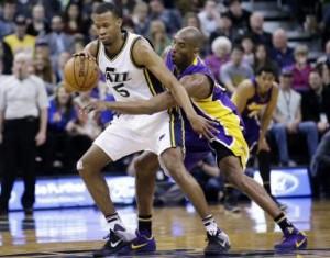 Rodney Hood, Utah Jazz Demolish Los Angeles Lakers, 123-75