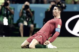 Notas: Cristiano Ronaldo marca os três gols lusitanos e tira vitória espanhola