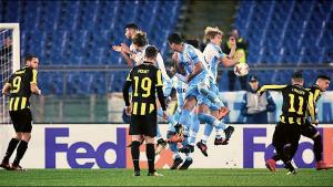 Europa League - Luis Alberto risponde a Linssen: 1-1 tra Lazio e Vitesse