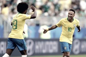 Russia 2018 - Neymar e Firmino stendono il Messico: il Brasile vince 2-0