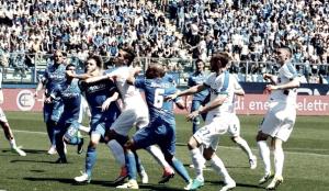 Empoli in ritiro per preparare il match salvezza con il Palermo