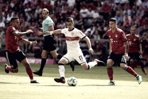 Stuttgart quebra jejum e goleia Bayern de Munique em dia de festa do título