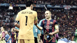 Champions League, verso Juventus-Barcellona: l'intervista doppia a Buffon e Iniesta