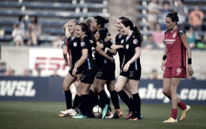 Chicago Red Stars and Portland Thorns share the points in a tough battle