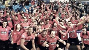 Sesi-SP supera Sesc Rio, faz 3 a 0 na série e se classifica para final da Superliga Masculina
