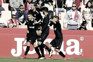 Granada CF - Sevilla Atlético: puntuaciones del Sevilla At., jornada 14 de LaLiga 1|2|3