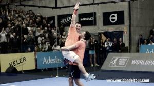 Las gemelas campeonas y sorpresa en la final masculina del WPT Keler Bilbao Open