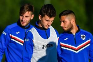 Sampdoria, ripresi gli allenamenti. Praet a parte