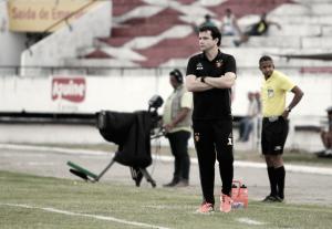 """Daniel fica feliz com oportunidade dada a base contra o Belo Jardim: """"Extremamente satisfeito"""""""