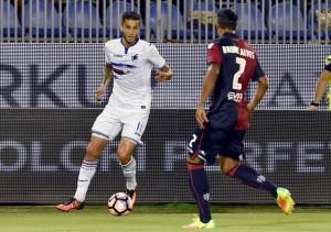 Sampdoria, recuperato Strinic. A Cagliari mancherà Linetty