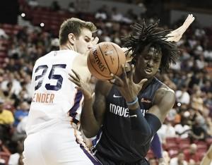 Phoenix Suns' Dragan Bender struggling early on at Las Vegas Summer League