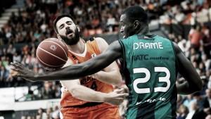 FIATC Joventut - Valencia Basket: el Valencia calibra la progresión de la Penya
