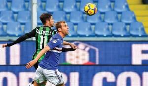 Clamoroso a Genova: Sassuolo batte Sampdoria 0-1, decide Matri al 90'!