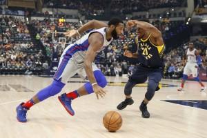 NBA - Drummond domina nel pitturato e guida i Pistons alla vittoria. Miami batte Charlotte