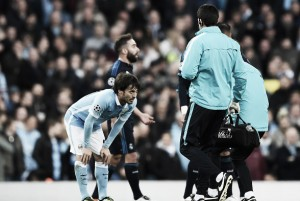 David Silva sidelined for up to three weeks with hamstring issue