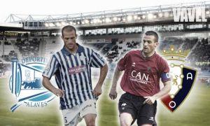 Alavés - Osasuna en directo online (3-0)
