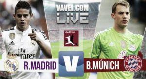 Resultado Real Madrid vs Bayern en Audi Cup 2015 (0-1)