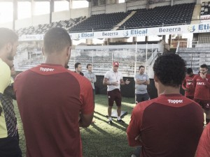 Náutico realiza treino fechado em Caruaru para partida contra Internacional