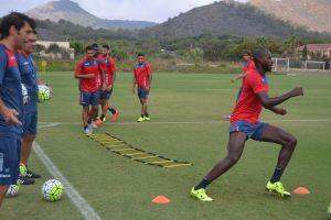 Puesta a punto para el amistoso contra el Albacete