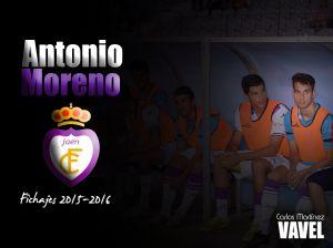 Antonio Moreno cuenta para Gonzalo Arconada