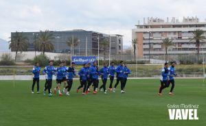 Fotos e imágenes del entreno del Málaga y rueda de prensa de Kameni