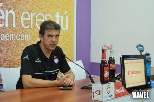"""Gonzalo Arconada: """"El equipo tiene que estar creciendo hasta el final"""""""