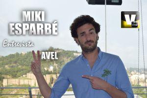 """Entrevista. Miki Esparbé: """"He enlazado muchos proyectos y estoy muy feliz"""""""