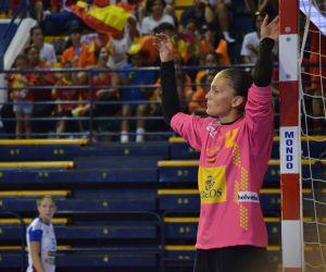 Fotos e imágenes del España-Eslovaquia, play off de clasificación para el Mundial Femenino 2015