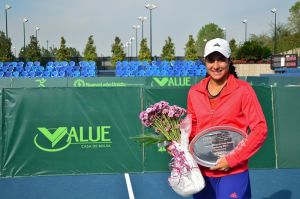 Se corona Adriana Pérez en el ITF 25K Monterrey 2013