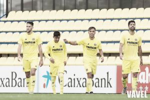 Fotos e imágenes del Villarreal B 2-0 Llosetense, jornada 6 del grupo III de segunda división B