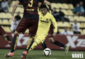 Fotos e imágenes del Villarreal B 1-1 Barcelona B, jornada 9 del Grupo III de Segunda División B