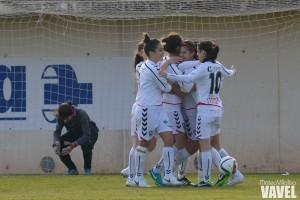 Fotos e imágenes del Albacete Femenino Nexus 3-2 Collerense UD, Primera División femenina