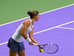 WTA Championships: Errani lotta ma un polpaccio la sabota