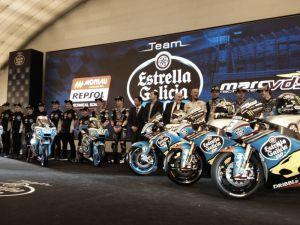 Il team Estrella Galicia 0,0 Marc VDS si presenta a Madrid