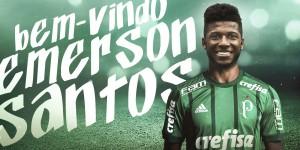 Palmeiras anuncia contratação do zagueiro Emerson Santos, ex-Botafogo